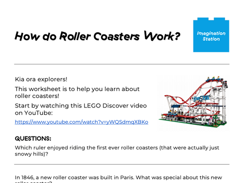 How do Roller Coasters work? at Imagination Station
