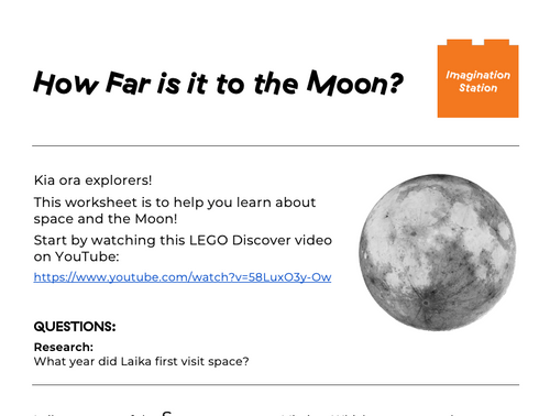 How Far is it to the Moon? at Imagination Station