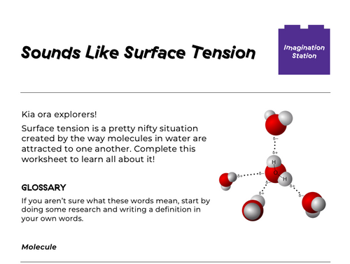 Sounds Like Surface Tension at Imagination Station