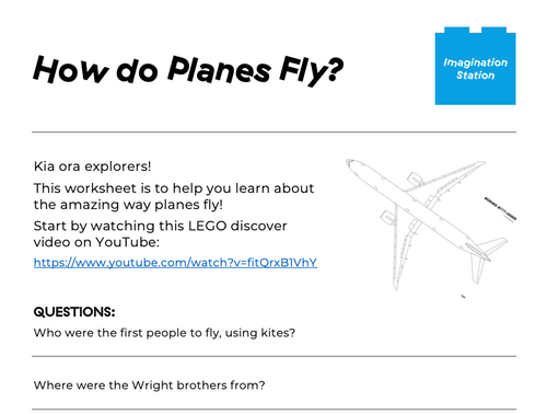 How do Planes Fly? at Imagination Station