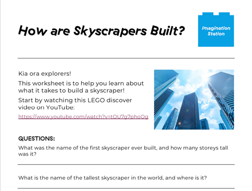How are Skyscrapers Built? at Imagination Station