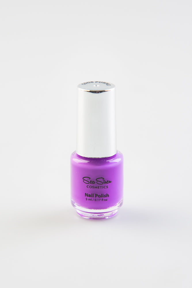 Sea Siren Cosmetics - Mini Polish - Code Purple