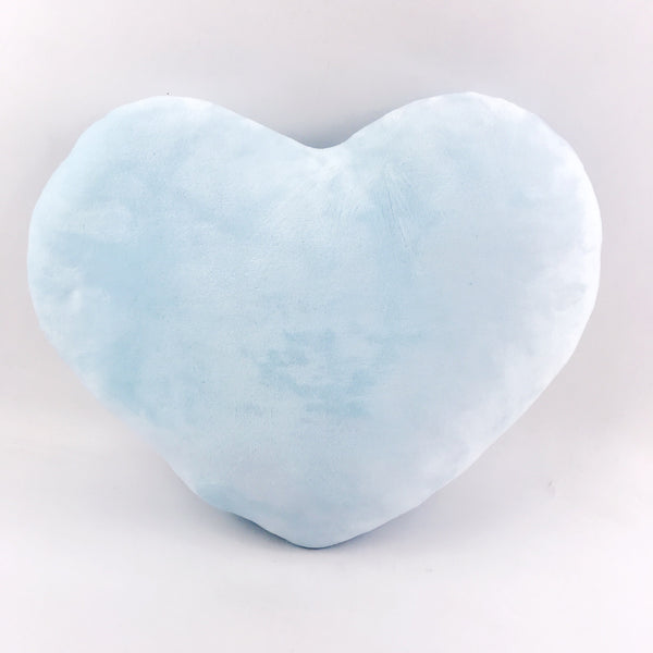 Blue Heart Pillow