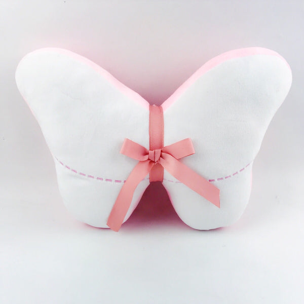 Pink Butterfly Pillow