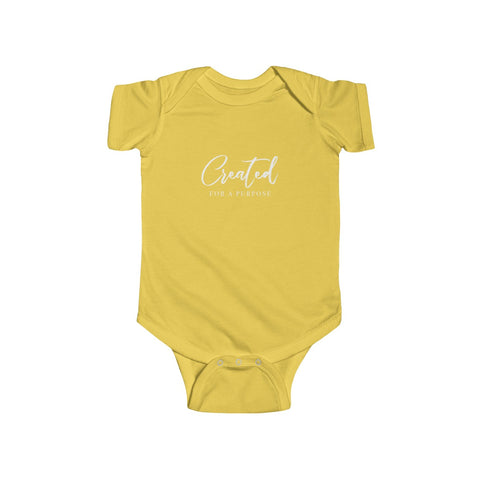 Created for a Purpose |Infant Onesie