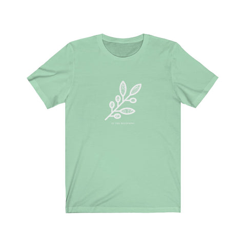In the Beginning Olive Branch | Tee