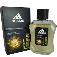 ADIDAS VICTORY LEAGUE Eau De Toilette Natural Spray for Men, 3.4 fl oz / 100 ml
