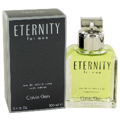 CALVIN KLEIN ETERNITY FOR MEN Eau De Toilette 3.3 oz / 100 ml