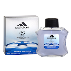 ADIDAS UEFA CHAMPIONS LEAGUE Arena Edition Eau De Toilette Natural Spray 3.4 fl oz / 100 ml