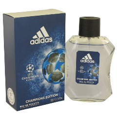 ADIDAS UEFA CHAMPIONS LEAGUE Champions Edition Eau De Toilette Natural Spray for Men, 3.4 fl oz / 100 ml