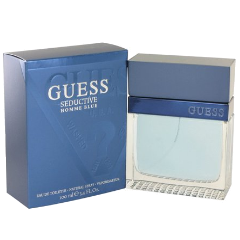 GUESS SEDUCTIVE HOMME BLUE Eau De Toilette Spray 3.4 fl oz / 100 ml