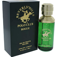 BEVERLY HILLS POLO CLUB ROGUE Eau de Toilette Spray for Men, 2.5 fl oz / 75 ml