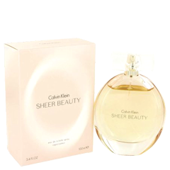 CALVIN KLEIN SHEER BEAUTY Eau De Toilette Spray Vaporisateur for Women 3.4 fl oz / 100 ml