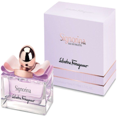 SALVATORE FERRAGAMO SIGNORINA Eau de Toilette Spray  for Ladies, 1.7 oz ./ 50 mL