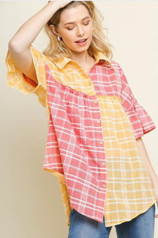 Buttercups and Tulips Tunic