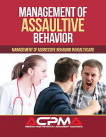 Management of Assaultive Behavior Instructor Course DVD (with 20 textbooks)