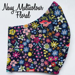 Navy Multi Floral