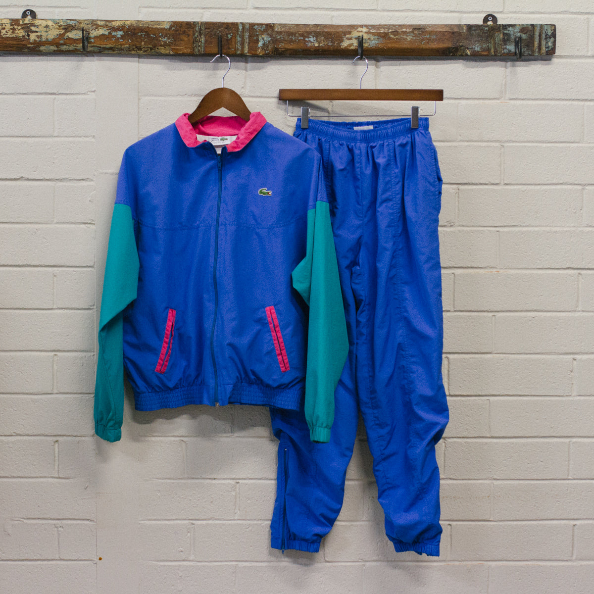Vintage Lacoste Full Tracksuit
