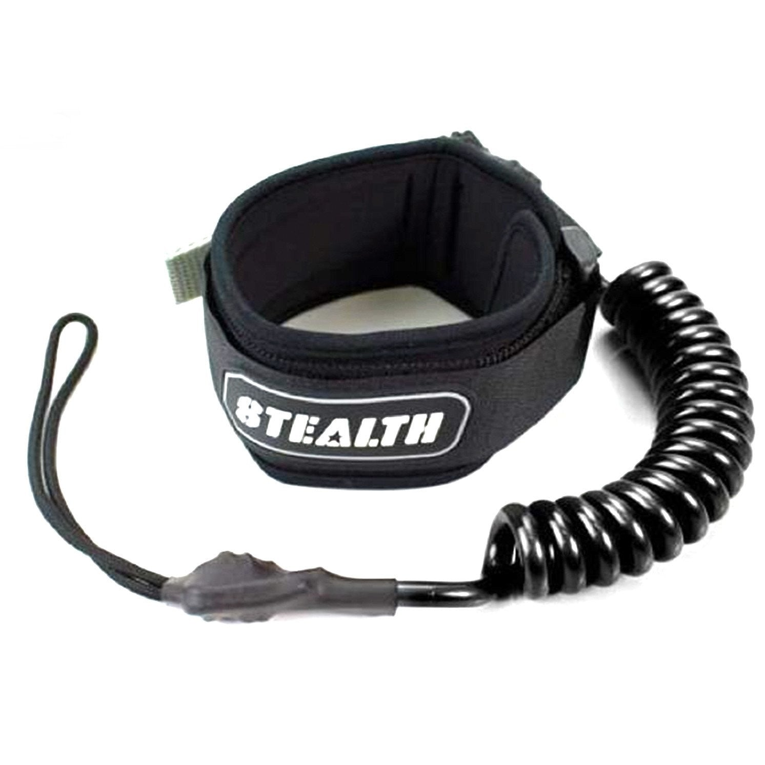 Stealth Basic Bicep Leash - Black or Teal