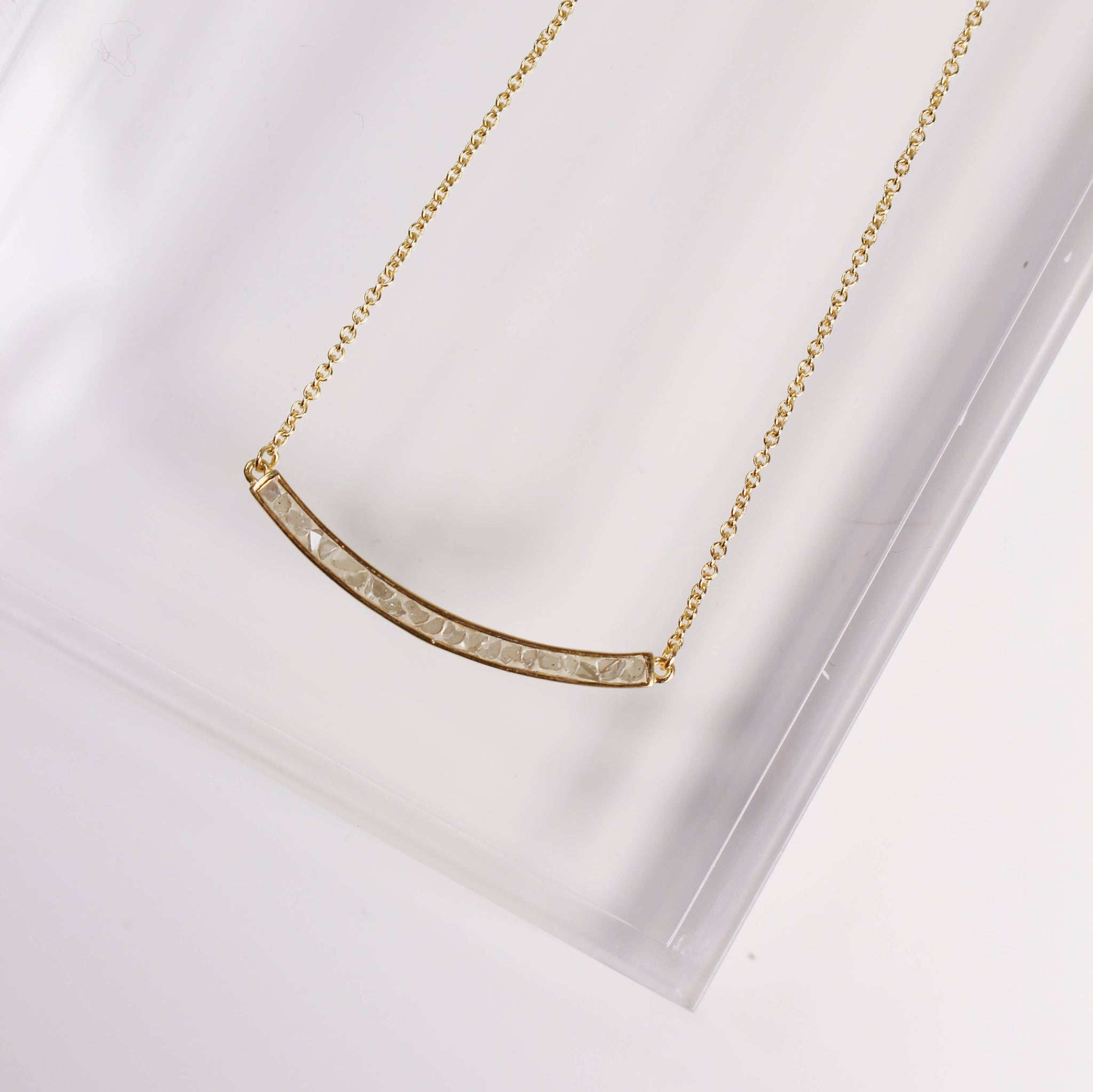 DECO DIAMOND NECKLACE