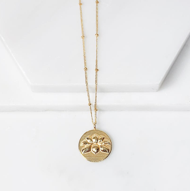 Collections by Joya - Lotus Flower Medallion