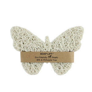 Soap Lift - Butterfly Soap Lift - White