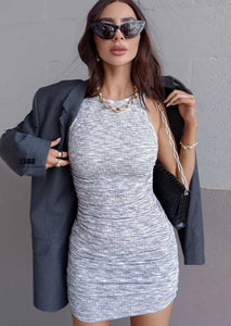 GREY COTTON MINI