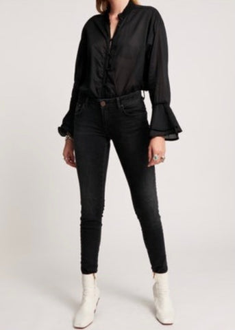ONE TEASPOON BLACK SKINNY JEANS