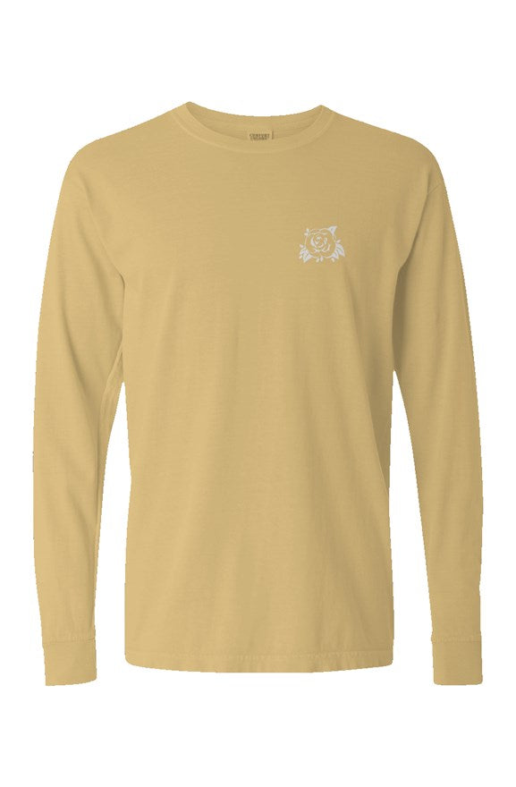 Long Sleeve Pigment Dyed Shirt