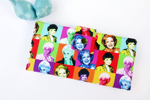 Golden Girls Pop Art Wallet