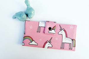 Pink Unicorn Magic Women's Wallet