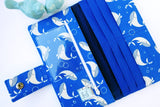 Cute Blue Whale Wallet