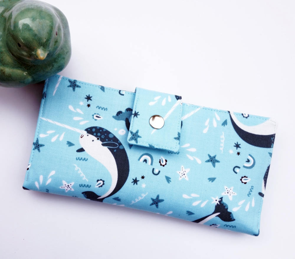 Narwhal women's wallet