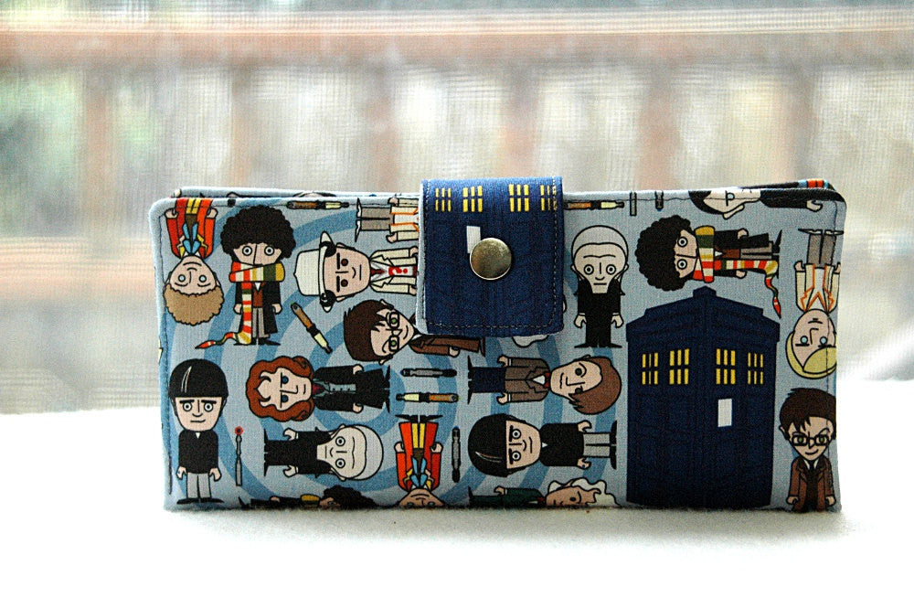 Wallet clutch womens iphone doctor who