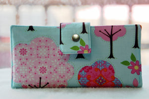 Women's handmade wallet tree