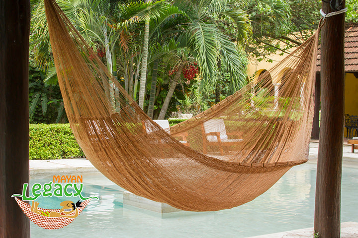 NEW: Nylon  Mexican Hammock  in Dream Sands Colour