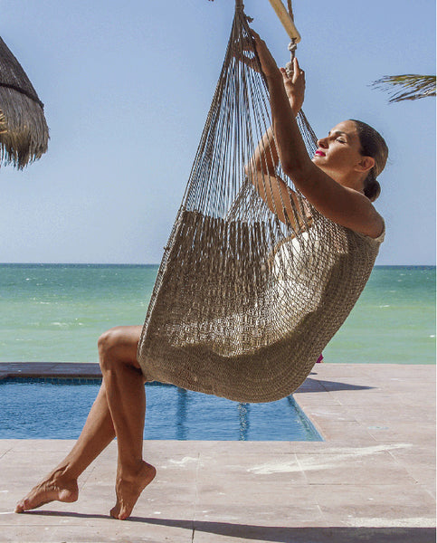 Extra Large Mexican Hammock Chair in Dream Sands