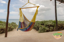 Extra Large Mexican Hammock Chair in Confeti