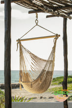 Extra Large Mexican Hammock Chair in Cream