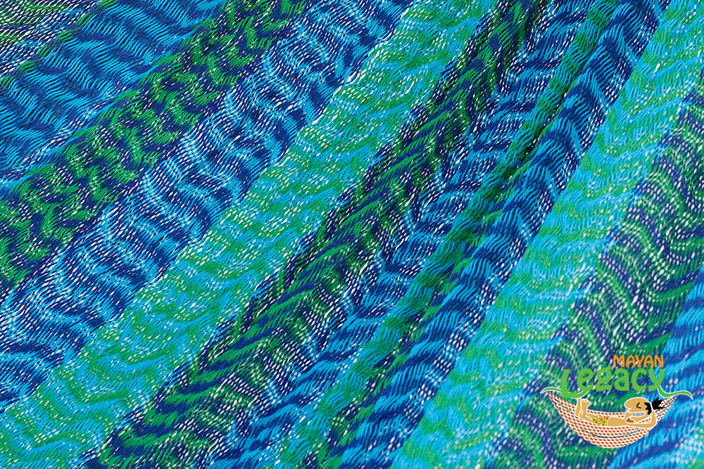 Cotton Mexican Hammock  in Caribe Colour