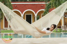 Cotton Mexican Hammock  in Cream Colour