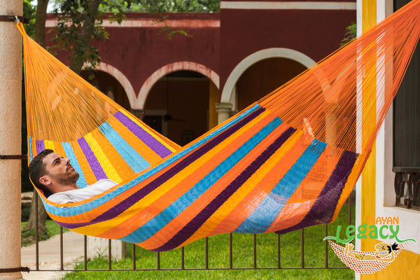 Nylon  Mexican Hammock  in Alegra Colour