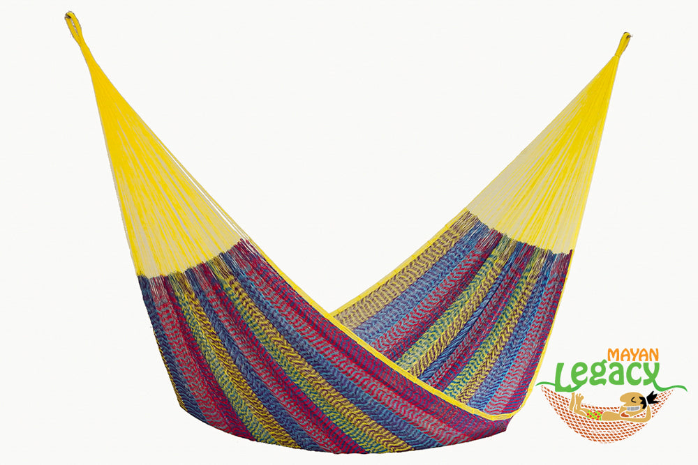 Nylon  Mexican Hammock  in Confeti Colour