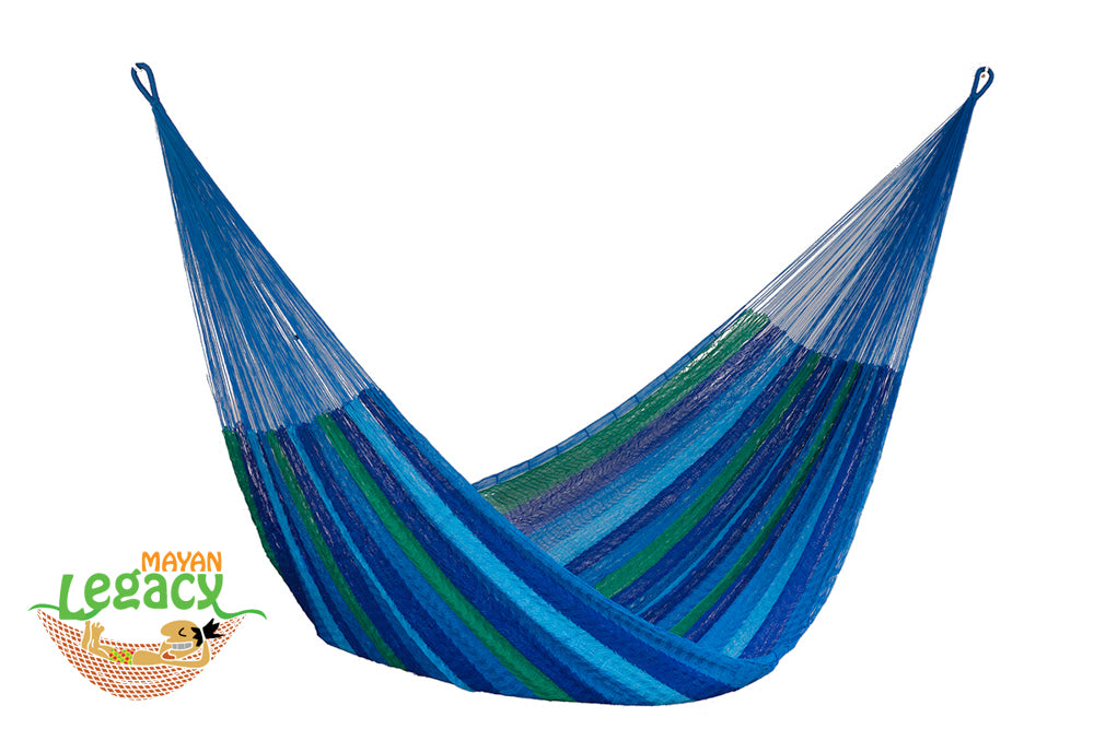 Nylon Mexican Hammock  in Orquidea  Colour