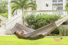 Outdoor Cotton Mexican Hammock  in Dream Sands  Colour