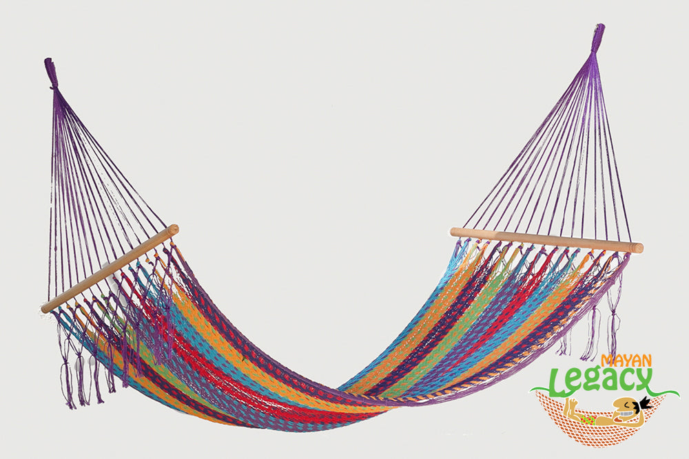 Resort Mexican Hammock with NO Fringe in Colorina