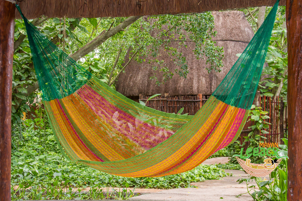 Cotton Mexican Hammock  in Radiante  Colour