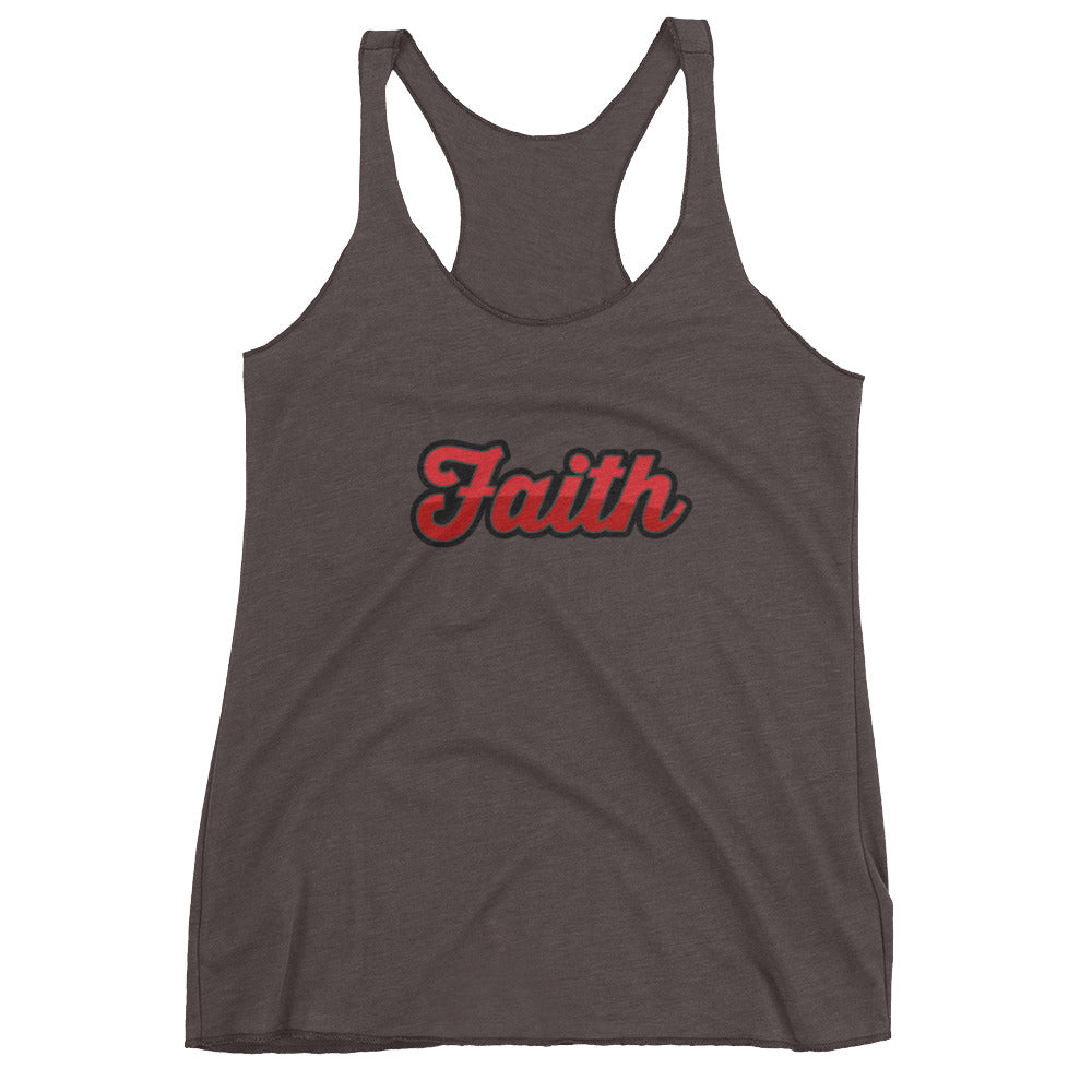 Women's Two Tone Faith tank top