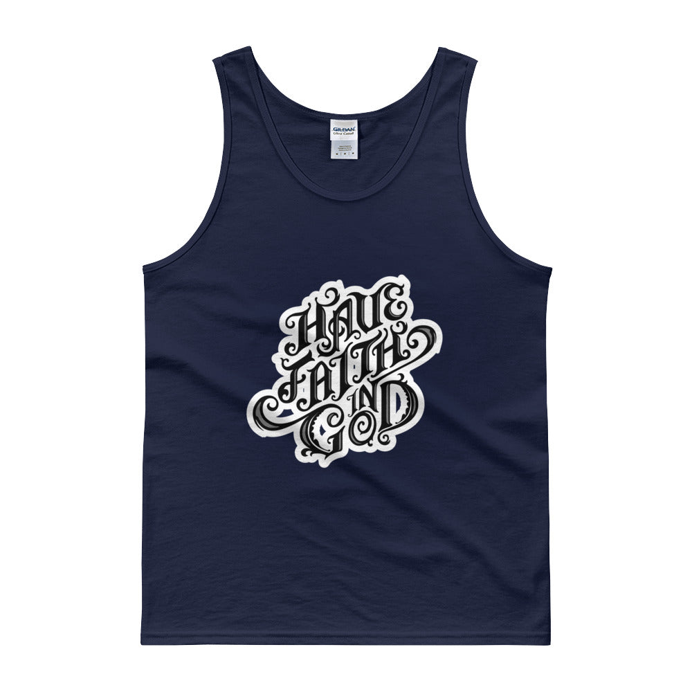 Men's Have Faith Tank top - Armor of God Apparel L.L.C.