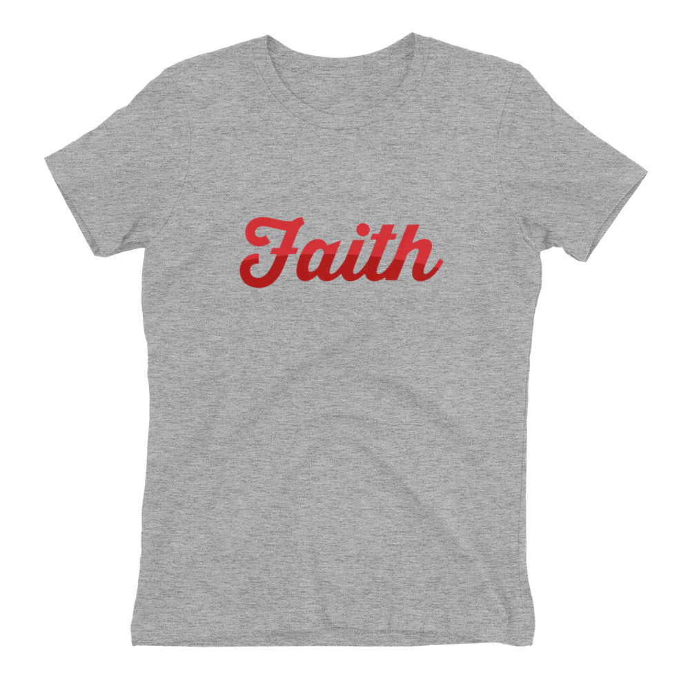 Faith Two Tone Women's t-shirt